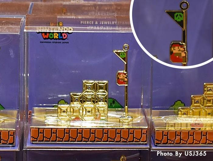 ピアス&ジュエリースタンドセット スーパー・ニンテンドー・ワールド 8bitマリオ