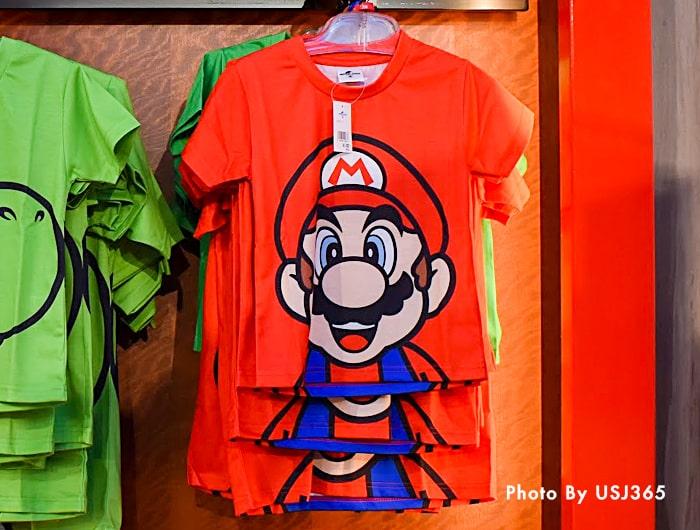 Tシャツ ビッグフェイス マリオ