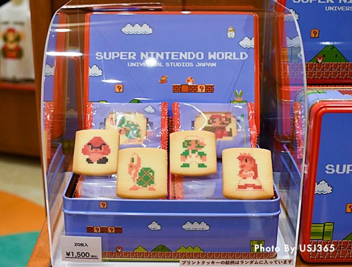 プリントクッキー(20枚)スーパー・ニンテンドー・ワールド 8bitマリオ