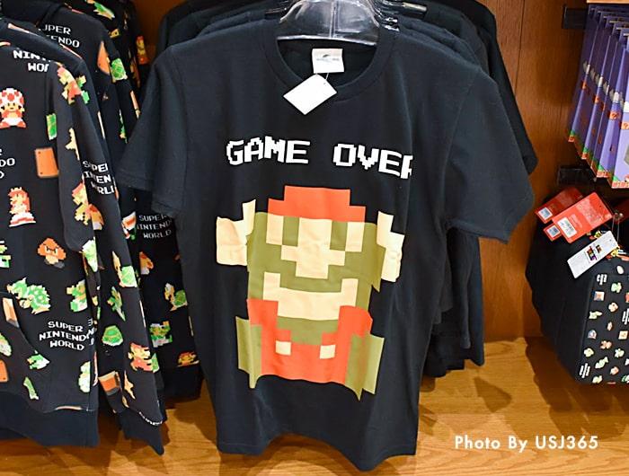 Tシャツ スーパー・ニンテンドー・ワールド 8bitマリオ(大人用)