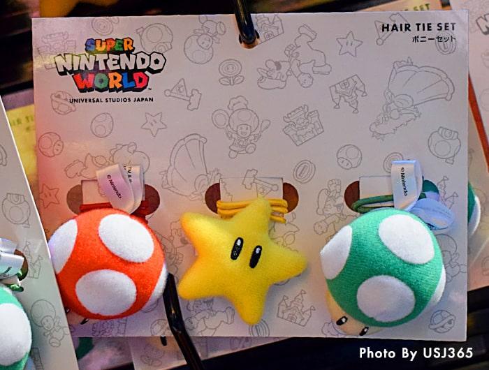ポニーセット(3個) スーパーキノコ&スーパースター&1UPキノコ