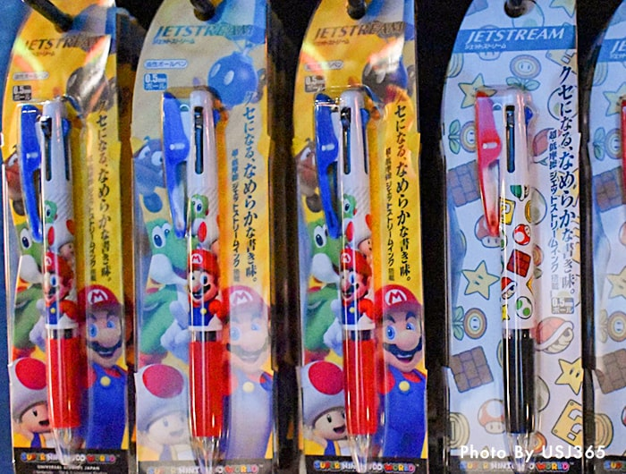 ジェットストリーム ボールペン マリオ&キノピオ&ヨッシー(3色)