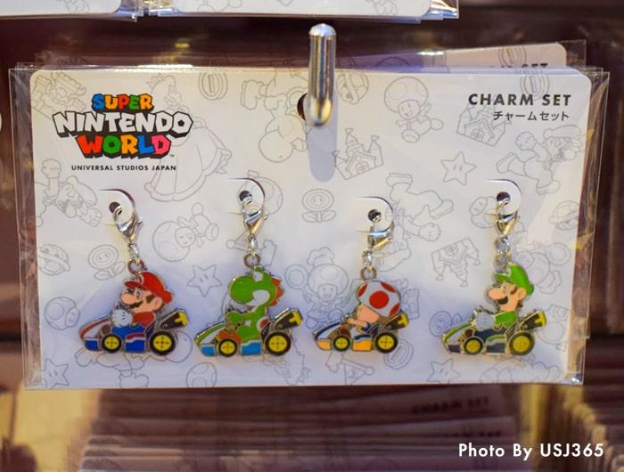 チャームセット(4個) マリオ&ヨッシー&キノピオ&ルイージ
