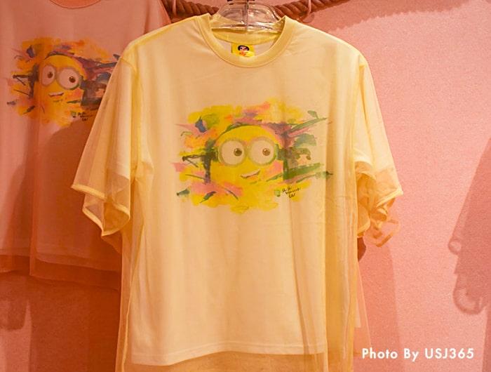 Tシャツ(イエロー)/シシヤマザキ
