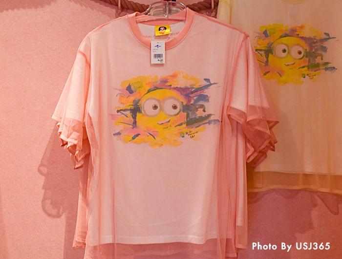Tシャツ(ピンク)/シシヤマザキ