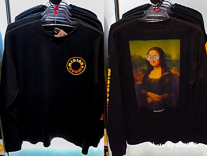 ロングTシャツ(ブラック) ミニオン×BEAMSコラボ