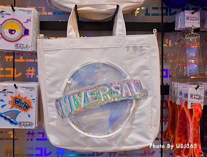 ユニバーサル・グローブのカスタムトートバッグ(20周年)