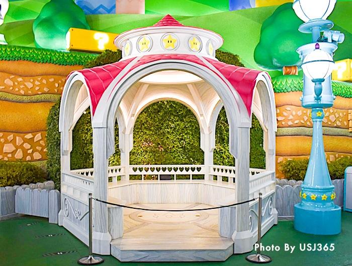 ピーチ姫のグリーティング開催場所