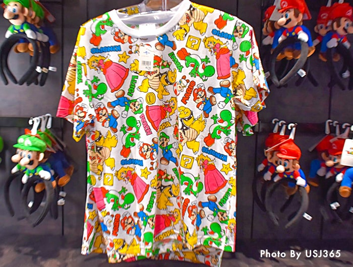 Tシャツ 総柄プリント