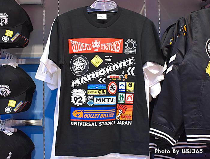 Tシャツ マリオカートアイコン(ブラック)