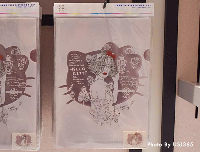クリアファイル&ステッカーセット/Kotoka Izumi