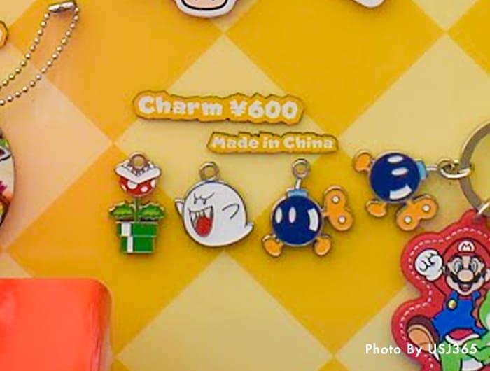 チャーム(3種類)600円