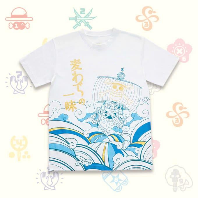 Tシャツ(麦わらの一味)