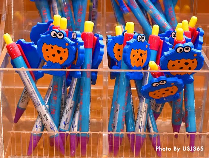 ボールペン(クッキーモンスター)