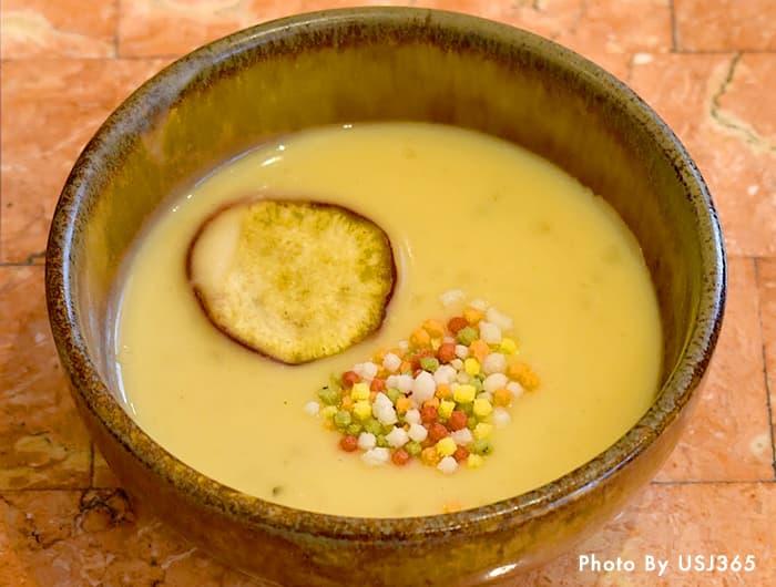 サツマイモと白味噌のポタージュ